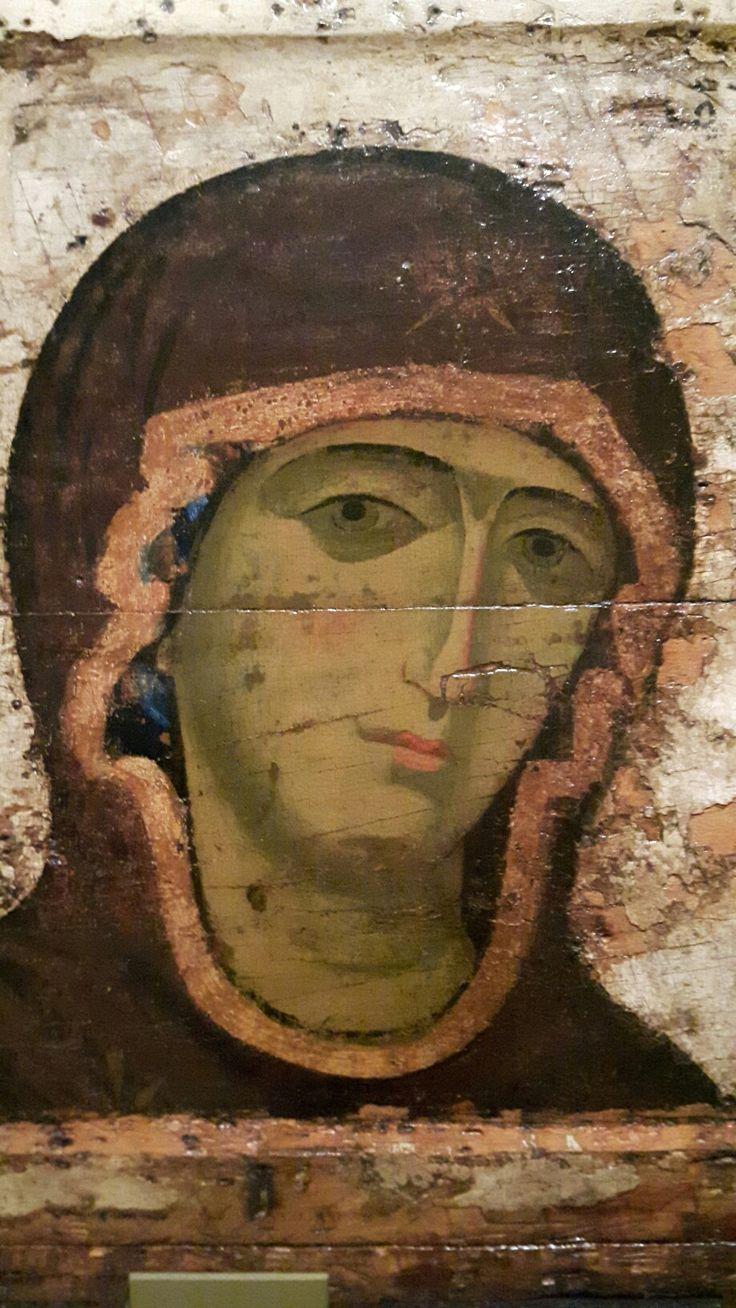 Dettaglio di Deesis. 1200 -1225. Russia di Vladimir e Suzdal. Tretyakov gallery Mosca.