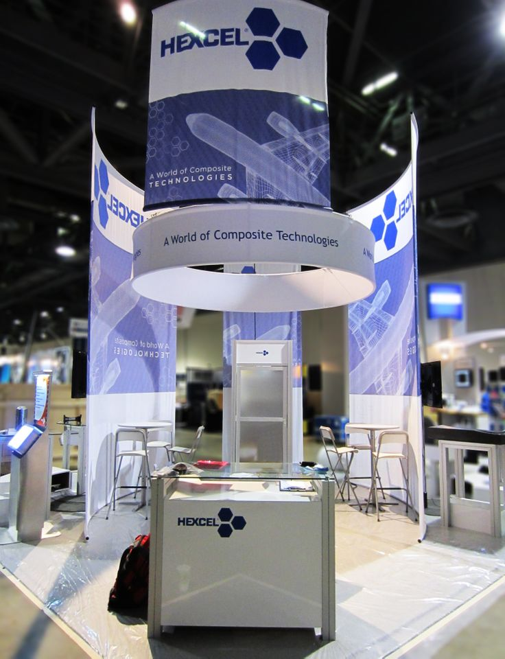 Exhibition Booth Area : Area exhibits design build hexcel at sampe expo
