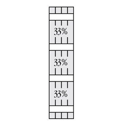Perfect Shutters 7.625W in. Open Board-N-Batten Arch Top Vinyl Shutters Colonial Blue - 1370863008C003