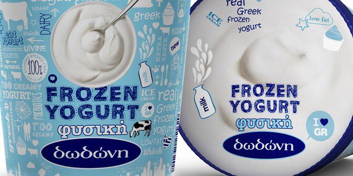 DODONI Greek Yogurt Package Design Detail