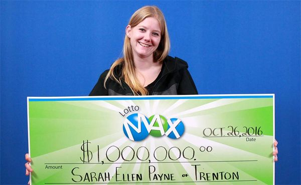 Trenton woman makes her mom super-excited by winning $1.000.000