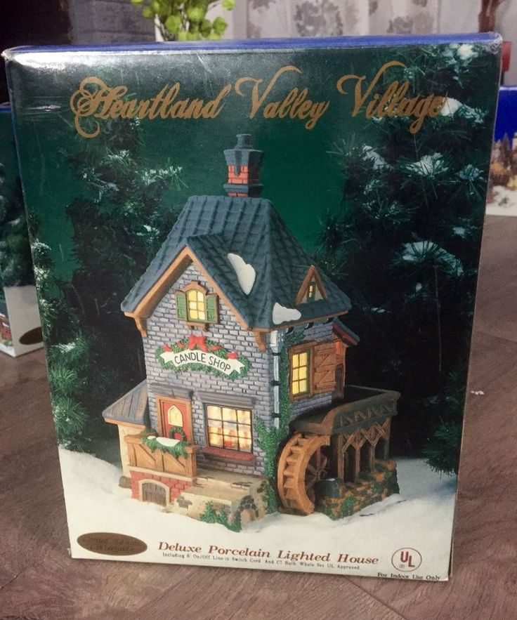 Heartland Valley Village Lighted House: 246 Best Images About Lemax Village Collectibles On