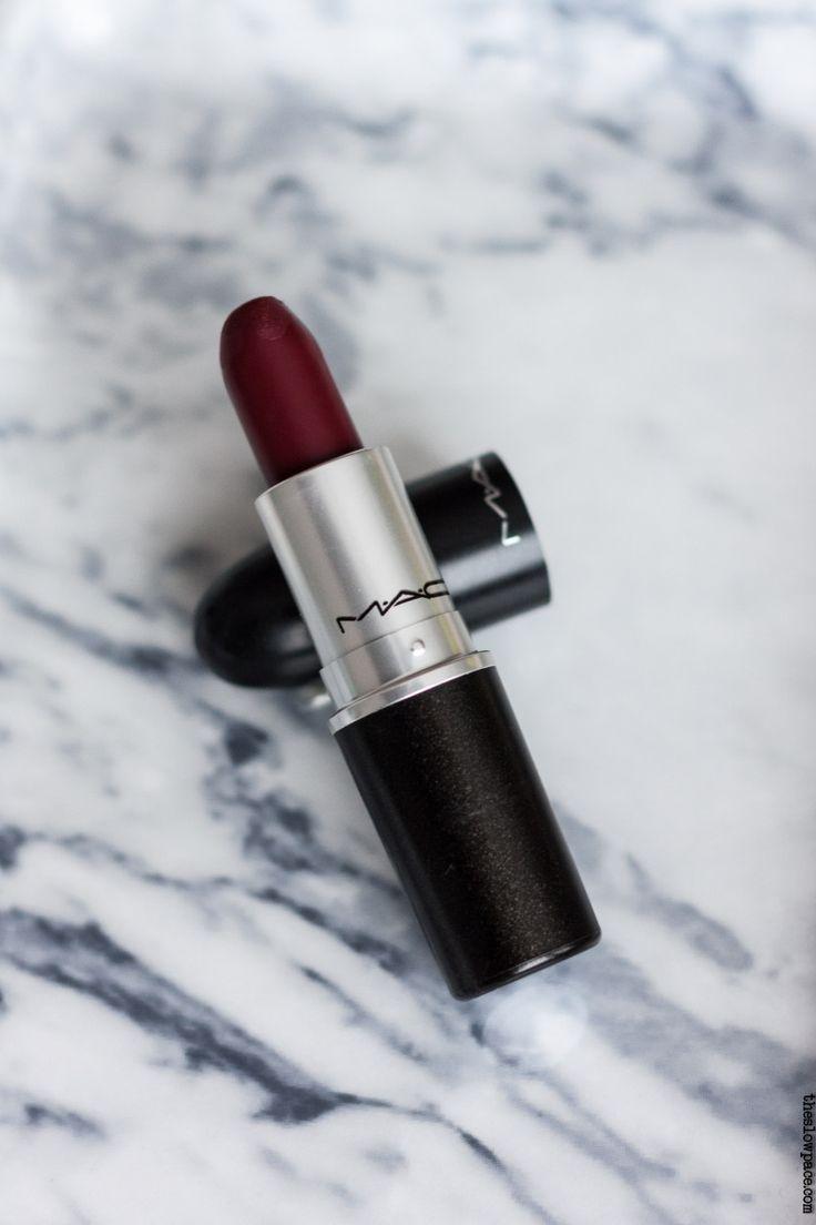 Mac Diva. Bold lipstick on Wednesdays