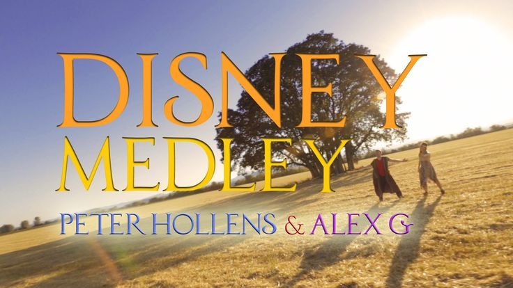 Epic Disney Medley - Peter Hollens & Alex G Acappella SO AWESOME! I had smile on my face the whole time. :)