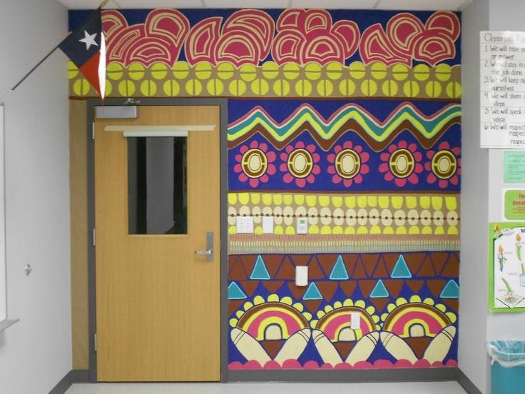 Classroom Mural Design ~ Best art room murals decor images on pinterest