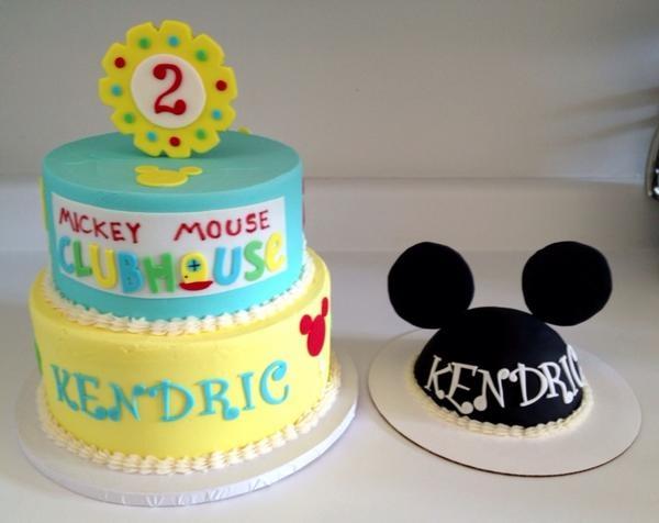 Mickey Clubhouse Birthday Cake