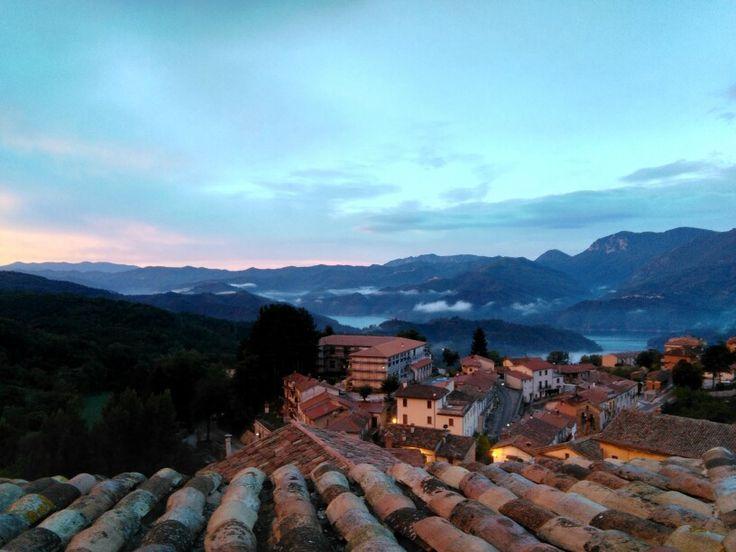 I colori dell'alba in Petrella Salto