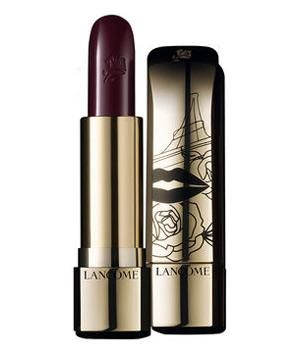 Lancôme L'Absolu Rouge in Prune Desir: This dark, moody plum speaks to effortless chic, but it offers practicality too: It hydrates lips and gives them a boost of vitamin E.