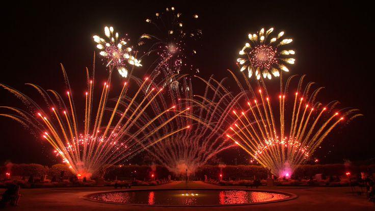 Int. Feuerwerkswettbewerb Hannover 2016 - H.C. Pyrotechnics - Belgien