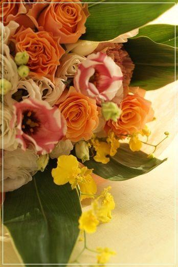 【今日の贈花】お母様のお誕生日に花束を♪ Flower note の 花日記 (横浜・上大岡 アレンジメント教室)