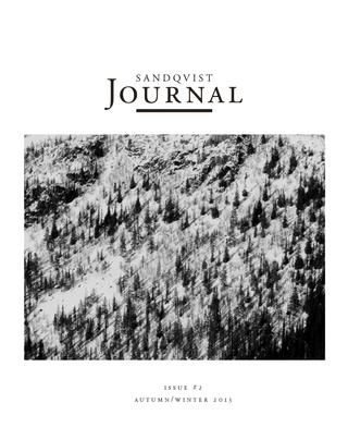 SANDQVIST JOURNAL Issue 2