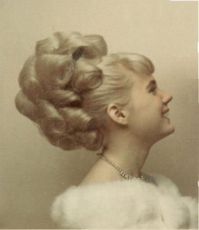 When big hair roamed the earth....60s  As a hairstylist I did a lot of these and wore them myself...