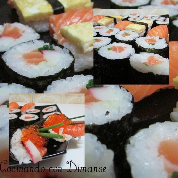 Cocinando con Dimanse: Comida japonesa: El sushi