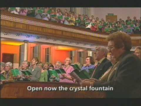 Welsh Chapel Choir - Guide me O thou Great Redeemer - live Nov 2004 -This is how it SHOULD sound :)