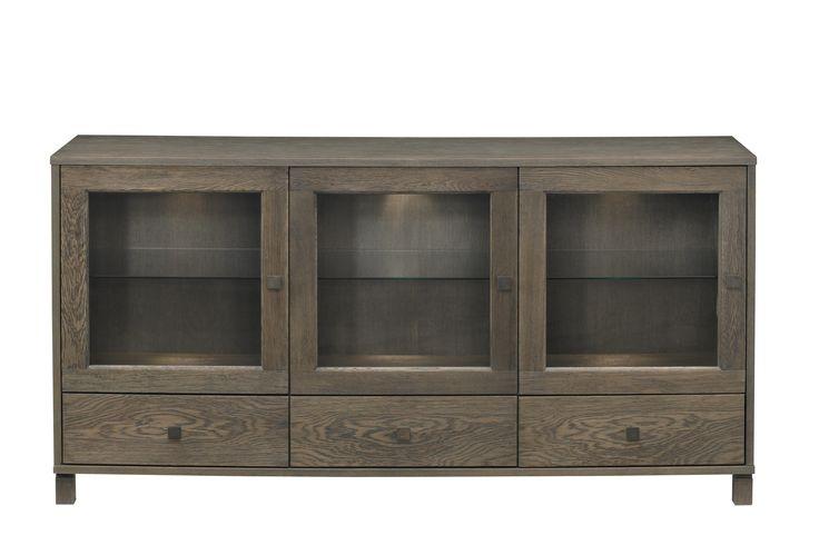 anrichte eiche teilmassiv woody 112 00292 furnier neutral. Black Bedroom Furniture Sets. Home Design Ideas