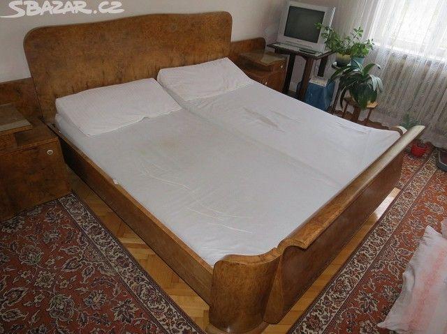 Starožitný nábytek, ložnice - LEVNĚ - obrázek číslo 9