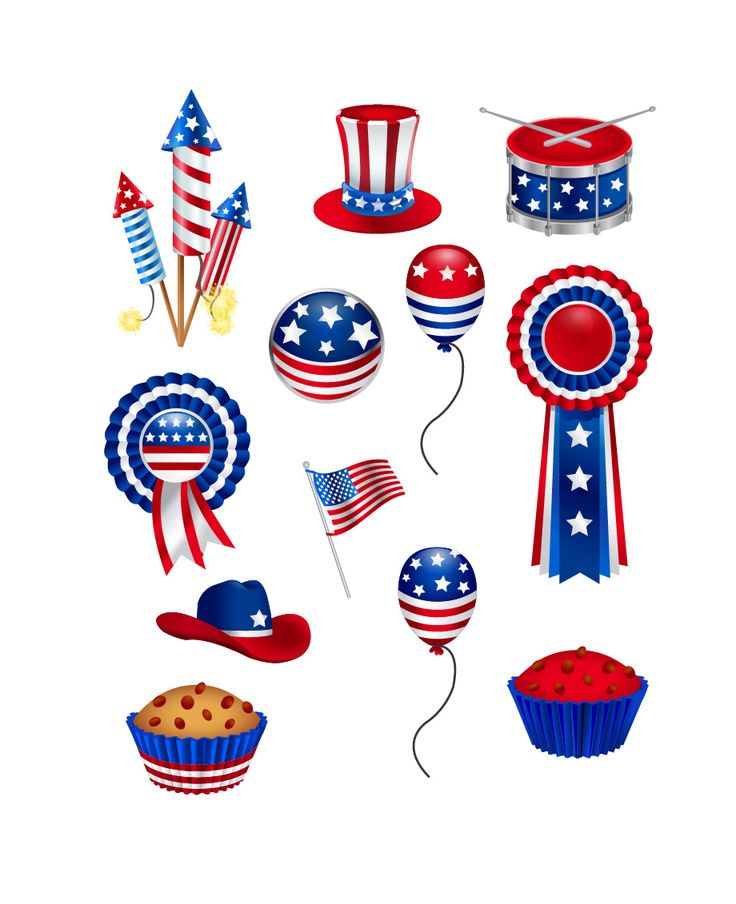 4th of july vector graphics