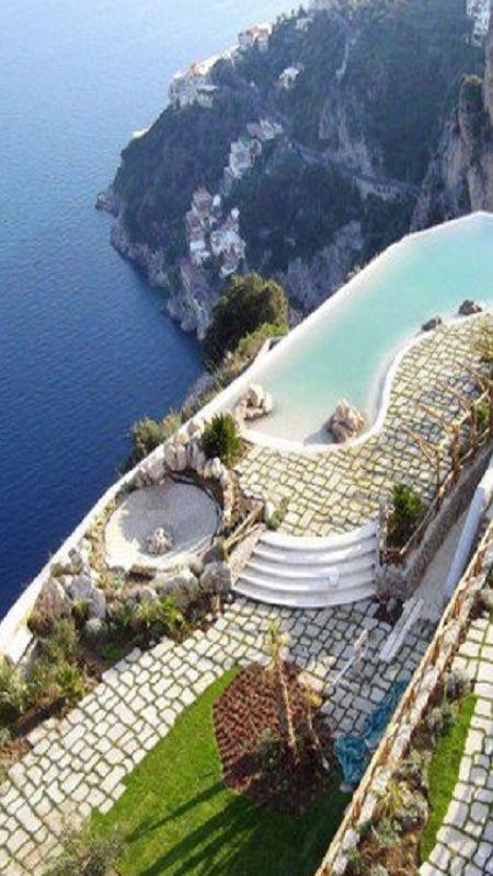Monastero Santa Rosa - Amalfi.  Yes, it is this amazingly beautiful.