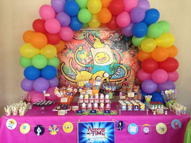 Adventure time! Party theme❤ Hora de aventura!