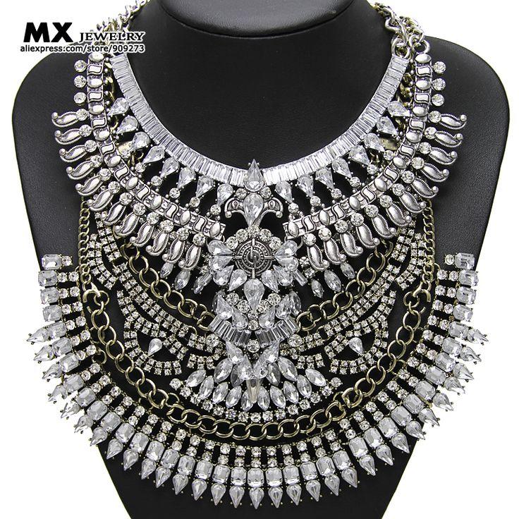 Купить Самые свежие 2 соединение в 1 новое прибытие женщин металлические бусины старинные заявление ожерелья и подвески чешские металлические ожерелья NK1107 и другие товары категории Подвески в магазине MX JEWELRY на AliExpress. Подвески