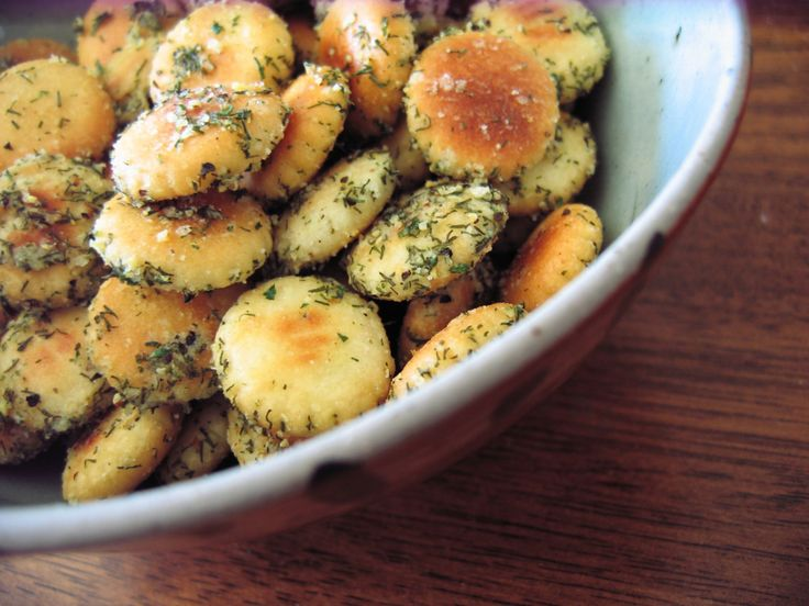 Ranch Dill oyster crackers