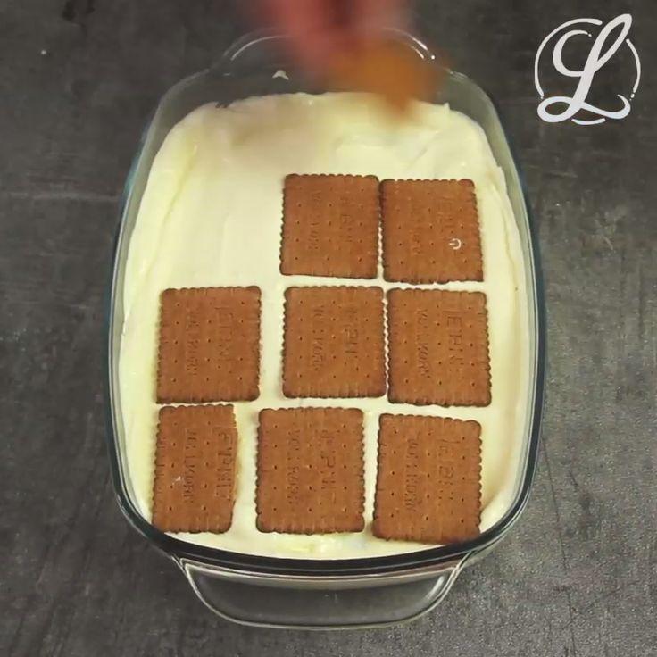 Eclair cake without baking  – Desserts – Nachtisch – Nachspeise