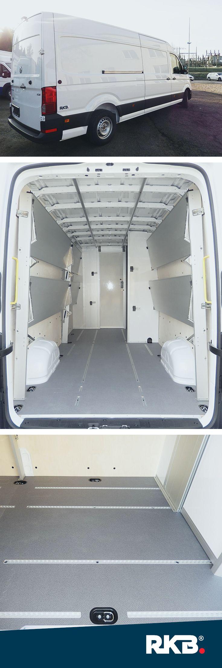 VW-Kastenwagenausbau von RKB #RKB #Transportfahrzeuge #Delivery #KEP #Logistikfahrzeuge #VW #Crafter #Nutzfahrzeuge Regalsystem #Innenausbau