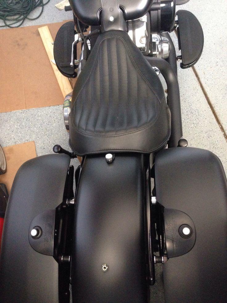 Harley Davidson Saddlebags: 2013 Harley Davidson Slim