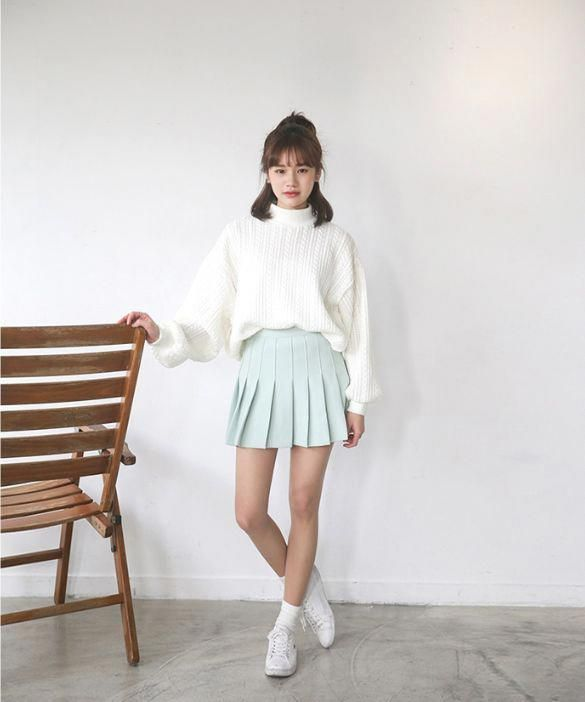 Great Winter Korean Fashion Winterkoreanfashion Korean Fashion Dress Winter Fashion Outfits Korean Fashion