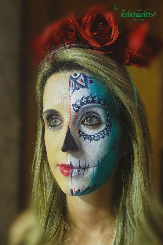 Sugarskull face painting