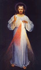 Pray the virtual interactive Divine Mercy Chaplet online.
