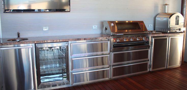 Outdoor BBQ Kitchens & Alfresco Kitchens Perth
