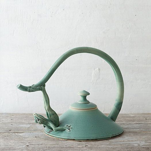 Frog Pond Teapot in House + Home Terrain Collective at Terrain