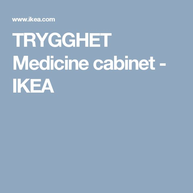 TRYGGHET Medicine cabinet   IKEA. 1000  ideas about Medicine Cabinets Ikea on Pinterest   Murphy bed