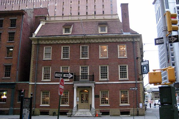 Fraunces Tavern - 54 Pearl St.  Where George Washington ended his Revolutionary campaign, they say