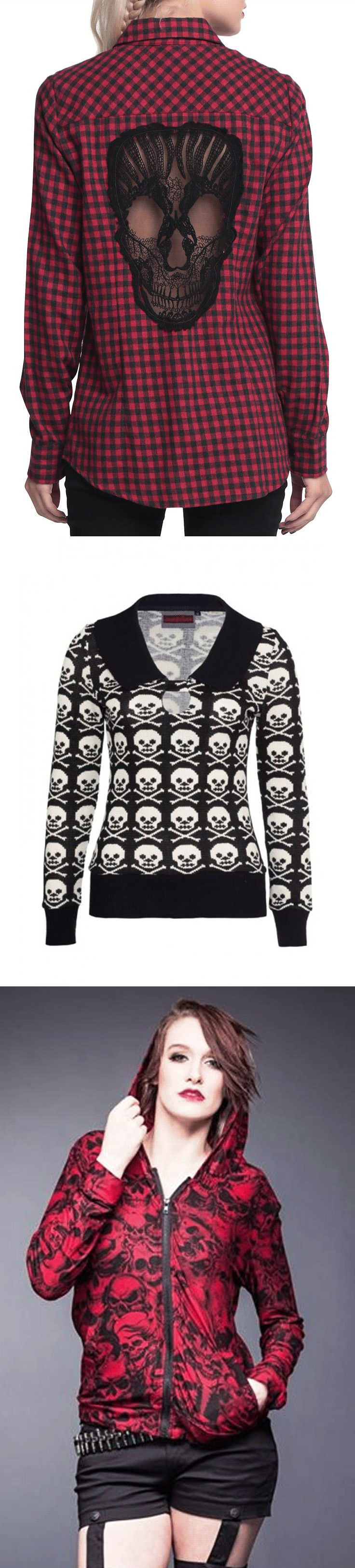 Get ready for fall with skull fashion at RebelsMarket.
