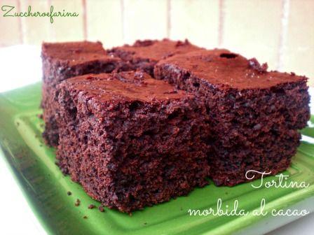 Torta-Trancetti soffici al cacao