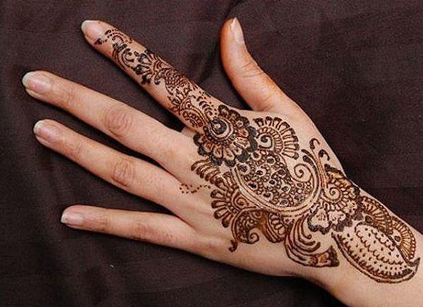 Mehndi For Practice : Simple arabic mehndi designs for hands beautiful