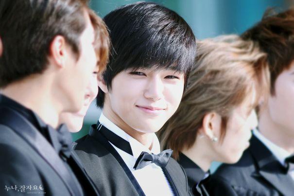 Myungsoo...so cute when he smiles :) | INFINITE