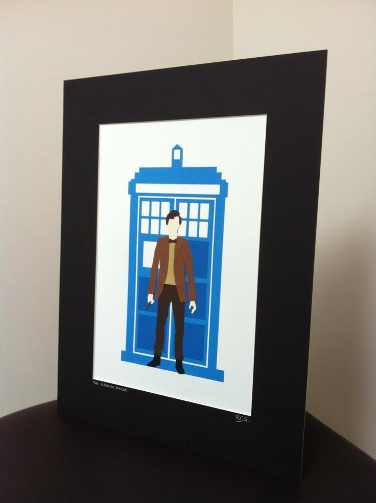 The 11th Doctor!!! Papercut Art