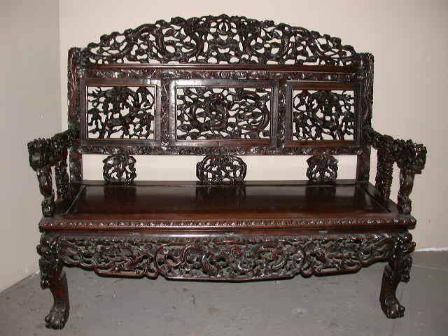 A magnificent antique Chinese rosewood settee - 68 Best Siheyuan Images On Pinterest Chinese Furniture, Chinese