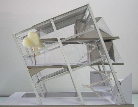Rumah Miring by Budi Pradono