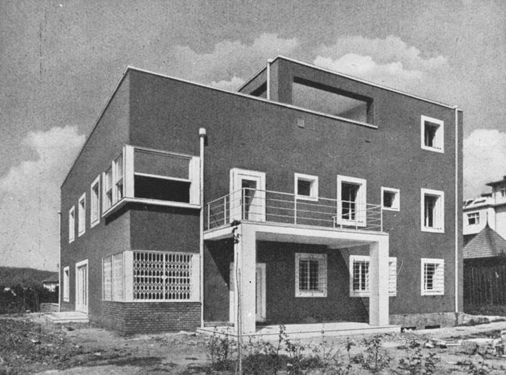 Villa Neumark, Ernst Wiesner, Brno, Czechoslovakia, 1928