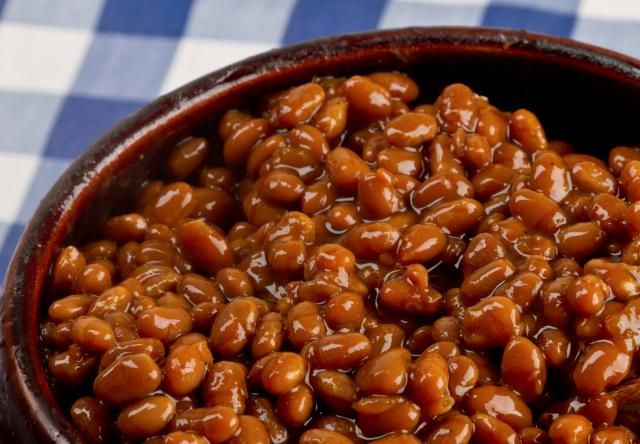 Vegetarian baked beans make a great side dish for a barbecue, picnic or for lunch or dinner. Try making baked beans in your crockpot. Vegan and gluten-free.