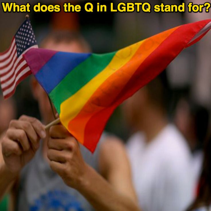 What does the Q in LGBTQ stand for? [USA Today Network] ➤ http://www.usatoday.com/story/news/nation-now/2015/06/01/lgbtq-questioning-queer-meaning/26925563 ②⓪①⑥ ⓪⑦ ②④ #Sex