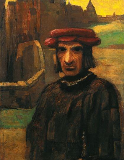 Gulácsy, Lajos (1882-1932) The Villain, 1904