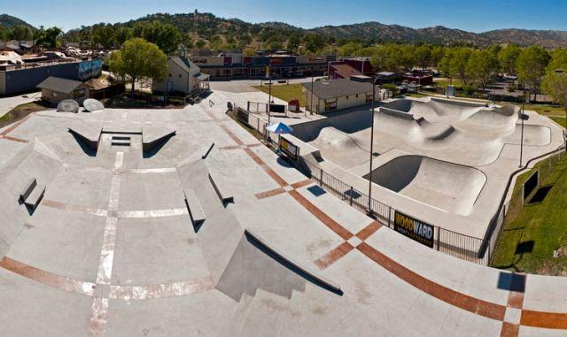 Woodward West Skatepark Tehachapi California Concrete Bowls