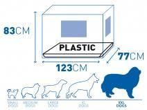 Hondenbench Zwart 123cm  Description: Duvo Hondenbench Zwart 123cmDeze hondenbench is te herkennen aan de zeer hoge kwaliteit. Deze kwaliteit kunnen wij garanderen door de kunststoffen bodembak en stevige dikke spijlen. Deze hondenbench is niet alleen van hoge kwaliteit maar ook een betaalbare prijs! Deze hondenbench heeft 2 deuren (1 aan de lange zijde en 1 aan de korte zijde) en wordt geleverd met anti-slip voetjes zodat de bench op zijn plek blijft staan.Schoonmaken:Deze hondenbench is…