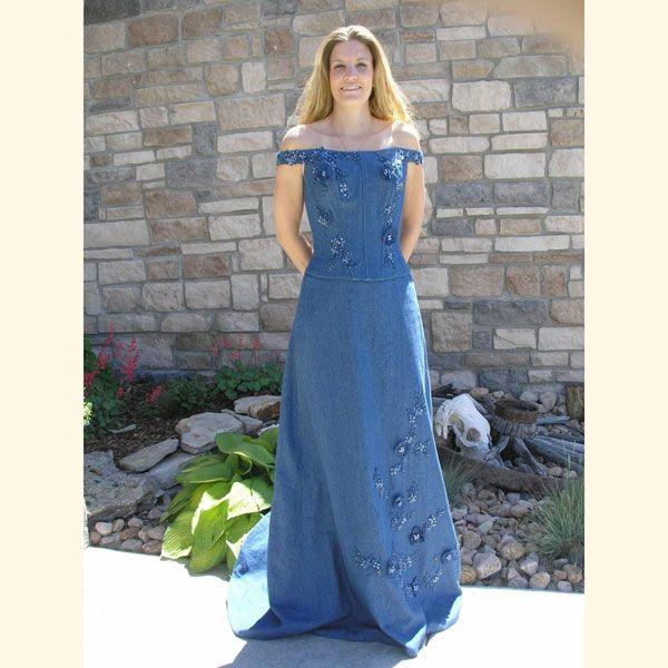 Denim Wedding Gown: 1000+ Images About Denim On Pinterest