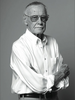 """""""A superhero without a great villain is like a day without sunshine."""" —Stan Lee, legendary comic book creator, in his 10 Questions interview inside the latest issue of TIME. http://ti.me/xQfIWG"""